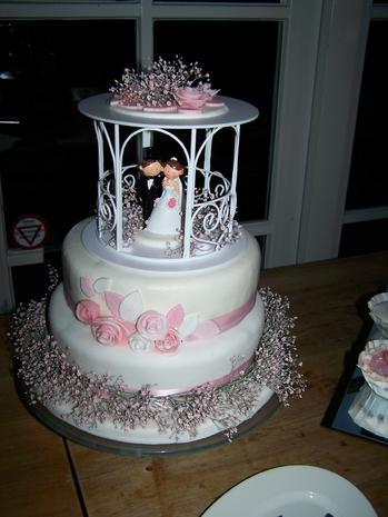 Hochzeitstorte für Marloes & Dennis - Rezept - Bild Nr. 609