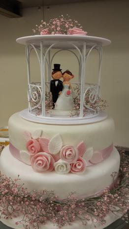 Hochzeitstorte für Marloes & Dennis - Rezept - Bild Nr. 928