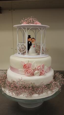 Hochzeitstorte für Marloes & Dennis - Rezept - Bild Nr. 927
