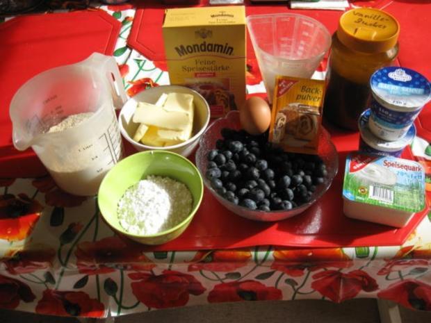 Heidelbeernkuchen mit sauer Sahne Guss - Rezept - Bild Nr. 612