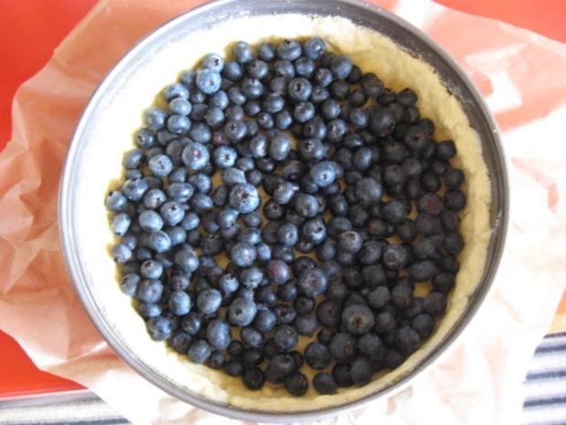 Heidelbeernkuchen mit sauer Sahne Guss - Rezept - Bild Nr. 620