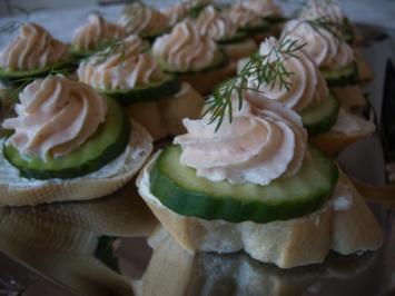 Foxys Snackbar: Häppchen mit Lachsmus - Rezept - Bild Nr. 656