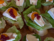 Foxys Snackbar: Camembert - Leckerchen - Rezept