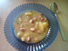 Cremige Kartoffelsuppe mit Würstchen  - Rezept - Bild Nr. 675