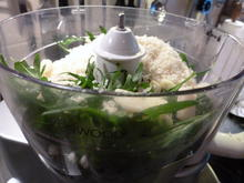 Rucola-Pesto & Basilikum-Pesto aus blauem Basilikum - Rezept - Bild Nr. 681