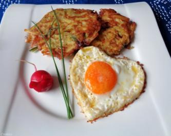 Lauch - Kartoffel - Rösti ... - Rezept - Bild Nr. 686