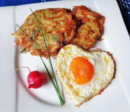 Lauch - Kartoffel - Rösti ... - Rezept - Bild Nr. 690