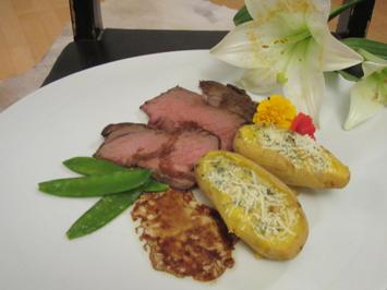 Roastbeef in Honig-Balsamico-Marinade - Rezept