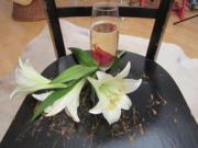 Blütendisko - Rezept
