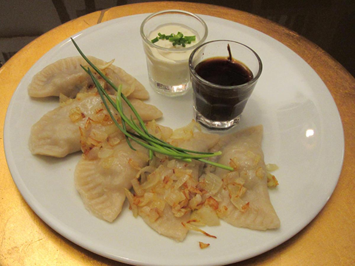 Pierogi mit Mehl und Eier - Rezept von Das perfekte Dinner