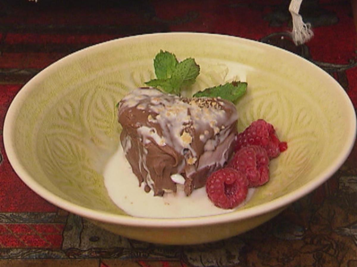 Himbeer-Vanille-Dessert Rezept Eingereicht von Das perfekte Dinner