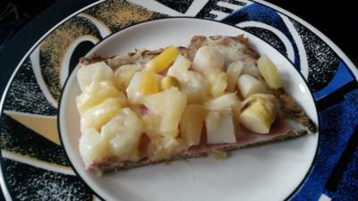 Pizza  mit Thunfischboden  - Rezept - Bild Nr. 754