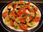 Tomaten-Bauern-Handkäse-Teller - Rezept