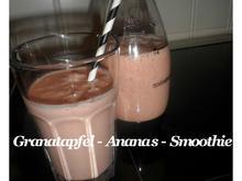 BiNe` S GRANATAPFEL - ANANAS - SMOOTHIE - Rezept