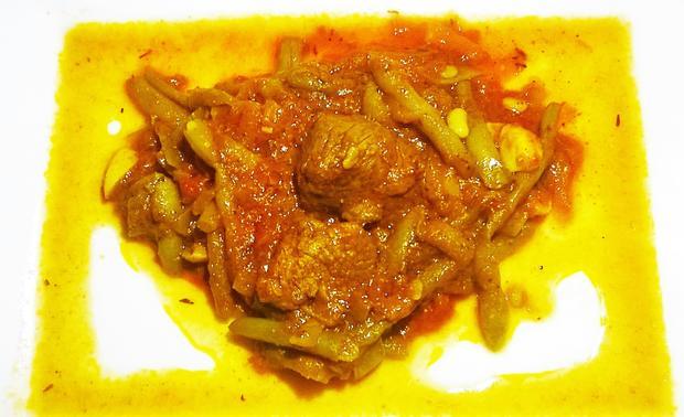 Marokkanischer Lammeintopf mit Bohnen - Rezept - Bild Nr. 803