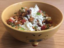 Couscous-Salat mit Granatapfel und Datteln - Rezept - Bild Nr. 828