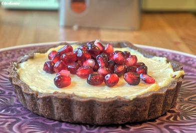 Rezept: Peanutbutter-Tartelettes mit Granatapfel