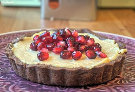 Peanutbutter-Tartelettes mit Granatapfel - Rezept - Bild Nr. 836
