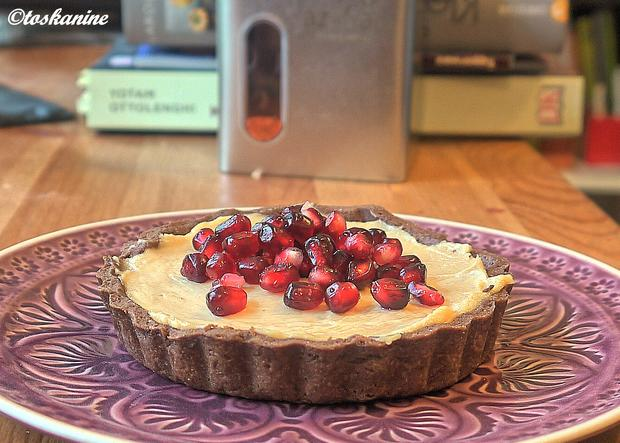 Peanutbutter-Tartelettes mit Granatapfel - Rezept - Bild Nr. 837
