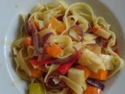Pappardelle mit Schmorgemüse - Rezept - Bild Nr. 2