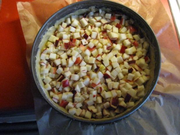 Apfel Schmand Kuchen Mit Streusel Rezept Kochbar De