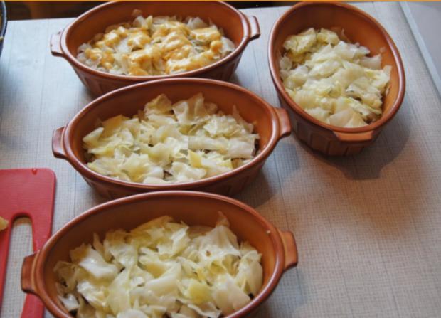 Spitzkohl-Kartoffel-Hack-Auflauf - Rezept - Bild Nr. 921