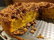 Kürbis Pie - Saftiger Kuchen mit Nuss-Streuseln ♥ - Rezept - Bild Nr. 886