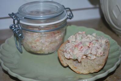 Rezept: Lachs-Shrimps-Tatar