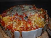 Nudel-Rolls mit Zucchinifüllung in Tomatensauce - Rezept - Bild Nr. 886