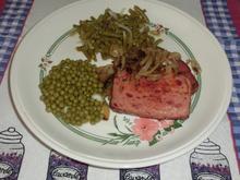 Gebratener Fleischkäse mit Salaten - Rezept - Bild Nr. 896