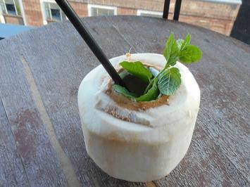 Matcha-Kokos-Daiquiri - Rezept