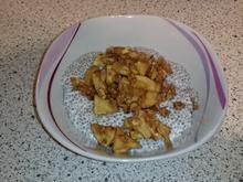 Chia-Pudding  mit Bratapfel - Rezept