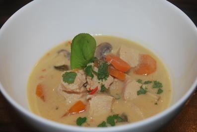 Thailändische Hühnersuppe - Rezept - Bild Nr. 927