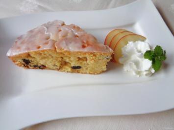 Calvados - Apfel in Rührteig mit Zitrone und Zitronen - Glasur ... - Rezept - Bild Nr. 927