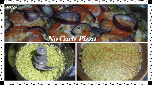 BiNe` S NO CARB PIZZA - Rezept - Bild Nr. 927