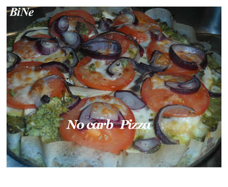 Rezept: BiNe` S NO CARB PIZZA