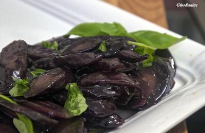 Glasierte Basilikummöhren - Rezept