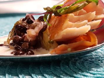 Rezept: Fisch / Lachs = Lachs als Vorspeise à la Biggi