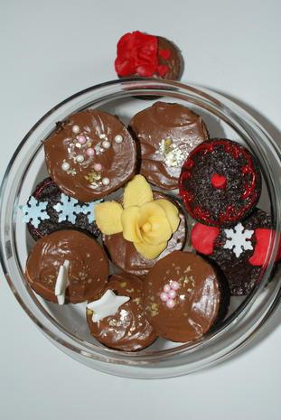 glutenfreie Schokocupcakes - Rezept - Bild Nr. 930