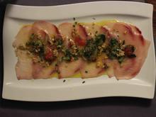 Schwertfisch-Carpaccio - Rezept