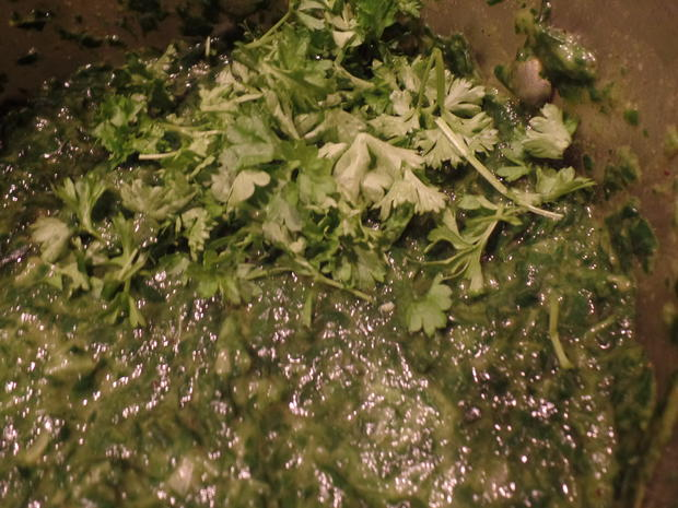 Spinatguiche mit Garnelen - Rezept - Bild Nr. 942