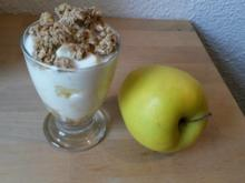 Apfel - Crunch - Joghurt - Rezept - Bild Nr. 942