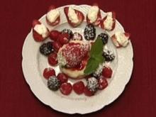 Griesflammeri an besoffenen Früchten (Dagmar Frederic) - Rezept
