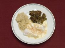 Choucroute aux poissons - Fisch auf Sauerkraut (Jochen Senf) - Rezept