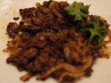 Pikante Hähnchenleber - Rezept