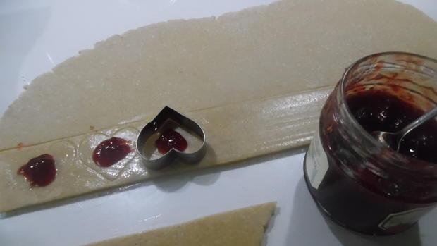 Lebkuchenherzen, fruchtig gefüllt - Rezept - Bild Nr. 1003