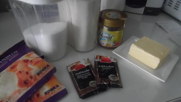 Lebkuchenherzen, fruchtig gefüllt - Rezept - Bild Nr. 1010