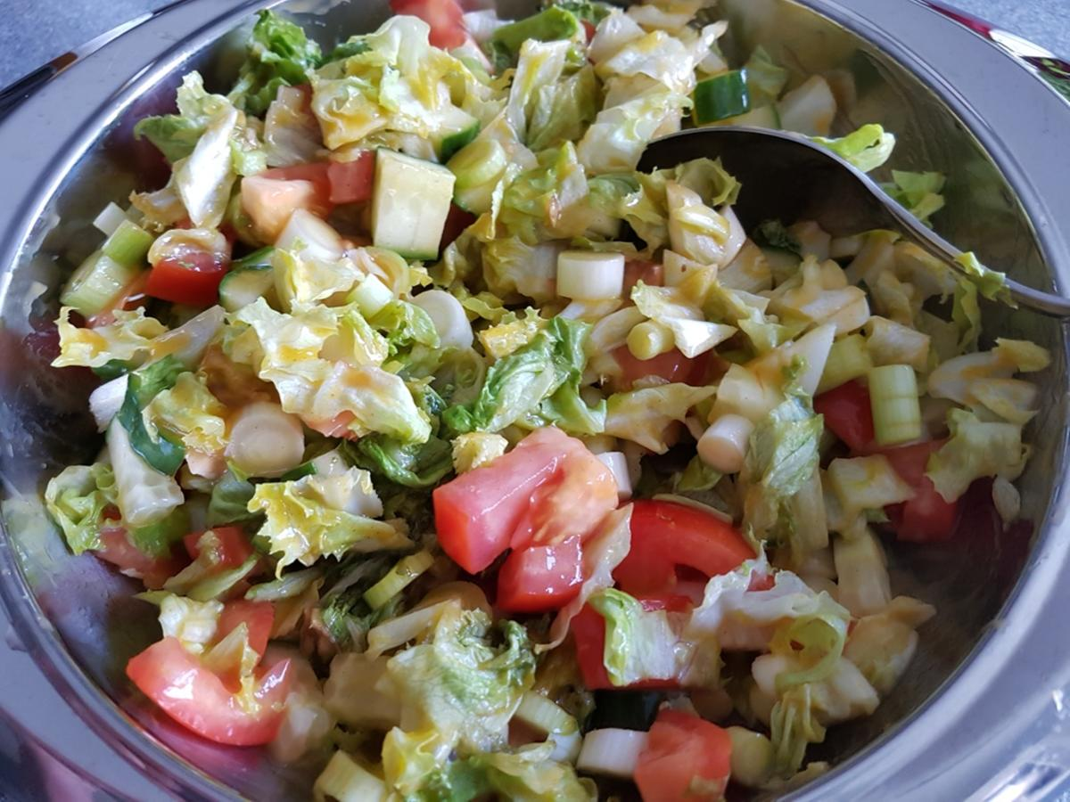 meine salate salat mit mango chili dressing rezept. Black Bedroom Furniture Sets. Home Design Ideas