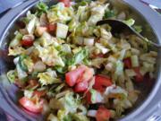 Salat mit Mango-Chili-Dressing - Rezept - Bild Nr. 6