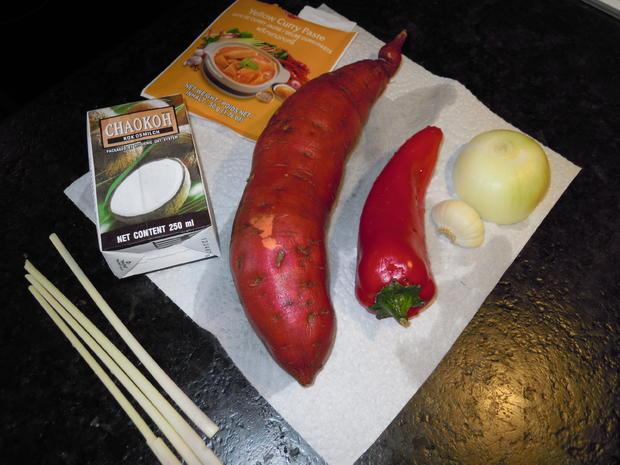 Kokos Curry mit Pute & Süßkartoffeln - Rezept - Bild Nr. 1050